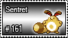 161 - Sentret by PokeStampsDex
