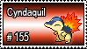 155 - Cyndaquil by PokeStampsDex