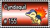 155 - Cyndaquil by PokeStampsDex