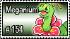 154 - Meganium by PokeStampsDex