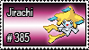 385 - Jirachi by PokeStampsDex
