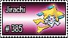 385 - Jirachi by PokeStampsDex