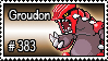 383 - Groudon by PokeStampsDex