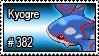382 - Kyogre by PokeStampsDex