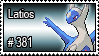 381 - Latios by PokeStampsDex