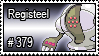 379 - Registeel by PokeStampsDex