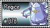 378 - Regice by PokeStampsDex
