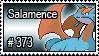 373 - Salamence by PokeStampsDex