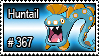 367 - Huntail by PokeStampsDex
