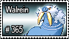 365 - Walrein by PokeStampsDex