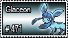 471 - Glaceon by PokeStampsDex