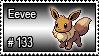 133 - Eevee by PokeStampsDex