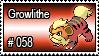 058 - Growlithe
