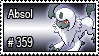 359 - Absol by PokeStampsDex