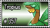 357 - Tropius by PokeStampsDex