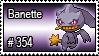 354 - Banette by PokeStampsDex