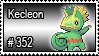352 - Kecleon by PokeStampsDex