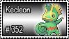 352 - Kecleon by PokeStampsDex