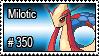 350 - Milotic by PokeStampsDex