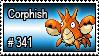 341 - Corphish by PokeStampsDex