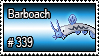 339 - Barboach by PokeStampsDex