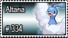 334 - Altaria by PokeStampsDex