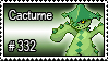 332 - Cacturne by PokeStampsDex