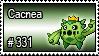 331 - Cacnea by PokeStampsDex