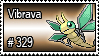 329 - Vibrava by PokeStampsDex
