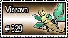 329 - Vibrava by PokeStampsDex