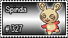 327 - Spinda by PokeStampsDex