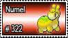 322 - Numel by PokeStampsDex