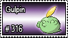 316 - Gulpin