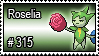 315 - Roselia by PokeStampsDex