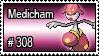 308 - Medicham by PokeStampsDex