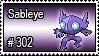 302 - Sableye