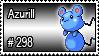 298 - Azurill by PokeStampsDex