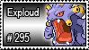 295 - Exploud by PokeStampsDex