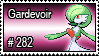 282 - Gardevoir by PokeStampsDex