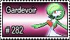 282 - Gardevoir by PokeStampsDex