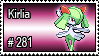 281 - Kirlia by PokeStampsDex
