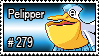 279 - Pelipper by PokeStampsDex