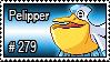 279 - Pelipper by PokeStampsDex