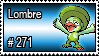 271 - Lombre by PokeStampsDex