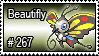 267 - Beautifly by PokeStampsDex
