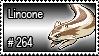 264 - Linoone by PokeStampsDex
