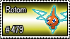 479 - Rotom by PokeStampsDex