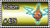 479 - Rotom by PokeStampsDex