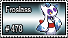 478 - Froslass by PokeStampsDex