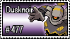 477 - Dusknoir by PokeStampsDex